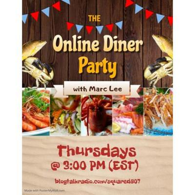 Cover art for The Online Dinner Party with Marc Lee