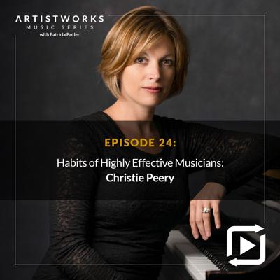 Cover art for The Habits of Highly Effective Musicians with Christie Peery