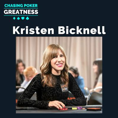 Cover art for #61 Kristen Bicknell: #7 Ranked GPI Player in the World & $8.7 Million in Tourney Cashes
