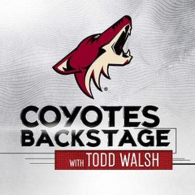 Cover art for Coyotes Backstage with Todd Walsh-EP-00014