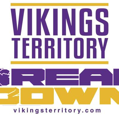 """VikingsTerritory Breakdown is a podcast/radio show (on KDLM Radio in Detroit Lakes/Fargo) with the Morning Joes fellas from VT (Joe Johnson/Joe Oberle), former Minnesota Vikings head coach and NFL player Mike Tice, Mike """"Wobby"""" Wobschall and exciting guests!You can listen on am1340/fm93.1 each Wednesday night @ 7pm, or each Wednesday night on whatever podcast platform you prefer!"""