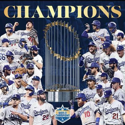 Cover art for Episode 8 - Dodgers win the World Series