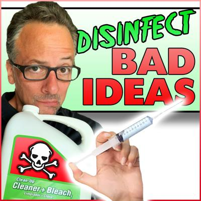 Cover art for Disinfect Bad Ideas