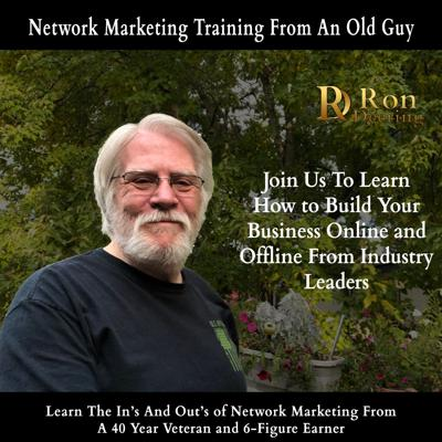 Network Marketing Training From Old Guy
