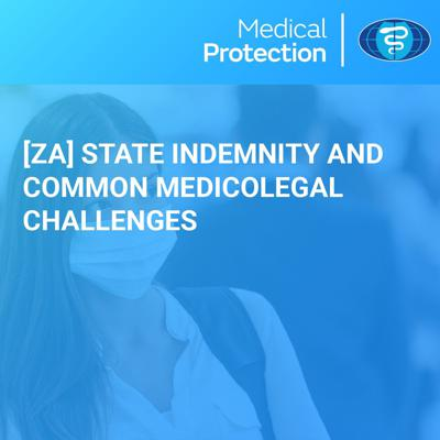 Cover art for [ZA] State Indemnity and Common Medicolegal Challenges