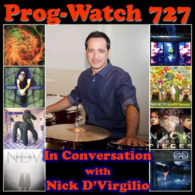 Cover art for Episode 727 - In Conversation with Nick D'Virgilio