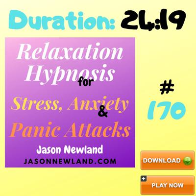 Cover art for #170 Relaxation Hypnosis for Stress, Anxiety & Panic Attacks -