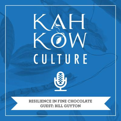Cover art for Resilience in fine chocolate, with Bill Guyton