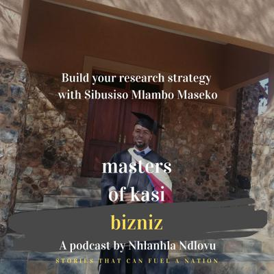 Cover art for 3.0 Build your research strategy with Sibusiso Maseko