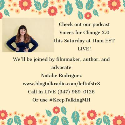 Cover art for Discussing Mental Health with Author and Filmmaker, Natalie Rodriguez