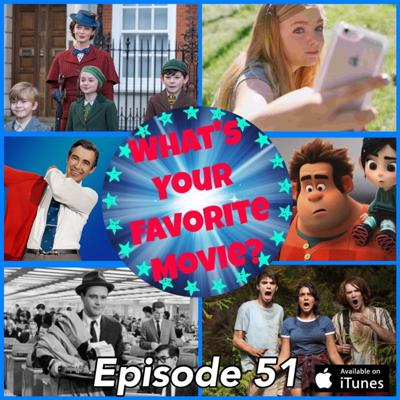 Cover art for 51: Favorite Movies Seen in 2018