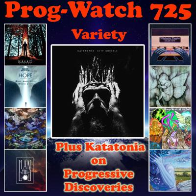 Cover art for Episode 725 - Variety + Katatonia on Progressive Discoveries