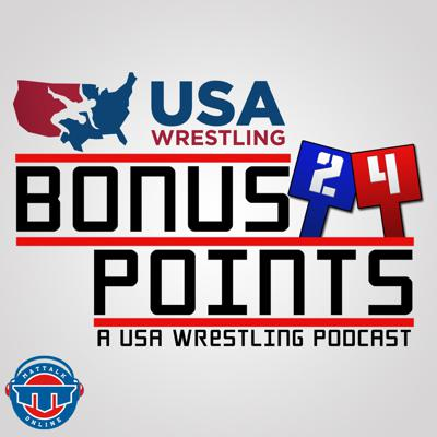 Bonus Points is the official podcast of USA Wrestling and TheMat.com hosted by Richard Immel. Sponsored by Liberty Mutual, Bonus Points offers interviews and insight from USA Wrestling, the National Governing Body for wrestling in the United States and will feature coaches, athletes and notable names from the sport of wrestling. Part of the Mat Talk Podcast Network.