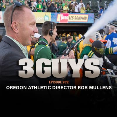 Cover art for WVU graduate and Oregon Athletic Director Rob Mullens