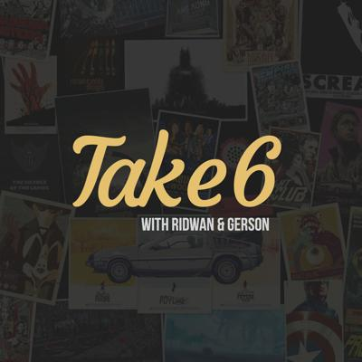 """Take6"" is a movie podcast hosted by two film lovers, Ridwan & Gerson, where they discuss/review in detail movies that they like. Just like those good old conversations you have with your friends after coming out of a movie theatre. So come listen in as we talk about upcoming releases and your favorite movies. Be sure to subscribe & Follow so you don't miss a review! Follow the crew: Ridwan @riddyculous94Gerson @callmegulliverTake6 @take6podcastPresented By: @freshly_diced"