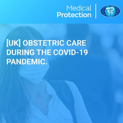 Cover art for [UK] Obstetric care during the COVID-19 pandemic
