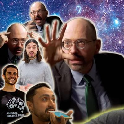 Cover art for The Cosmic Mystery of Dr. Greger & The Fraternal Order of Paid Vegan Activists