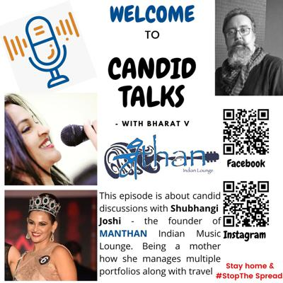 Cover art for #4 Candid discussions with Shubhangi Joshi of Manthan Indian Music Lounge
