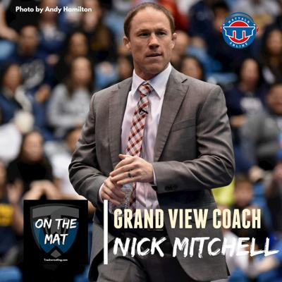Cover art for Grand View head coach Nick Mitchell - OTM604
