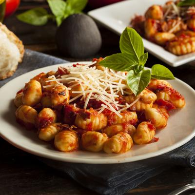 Cover art for Gnocchi with tomato sauce