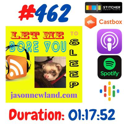 """Cover art for #462 Let me bore you to sleep - """" TO LOVE A MOCKING JASON"""" Jason Newland (30th July 2020)"""