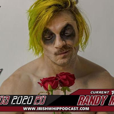 Cover art for Episode 307 DefyNW Champ Ravenous Randy Myers discusses his career, Covid19 and comedy