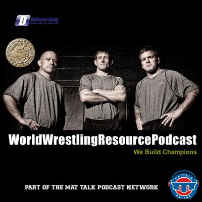 Cover art for Discussing diversity, opportunity, and small college wrestling with coaches LeRoy Gardner and Robert Hemingway - WWR68