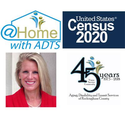 Cover art for Episode #3 - Census 2020 Guest: Cara Townsend - @Home w/ADTS