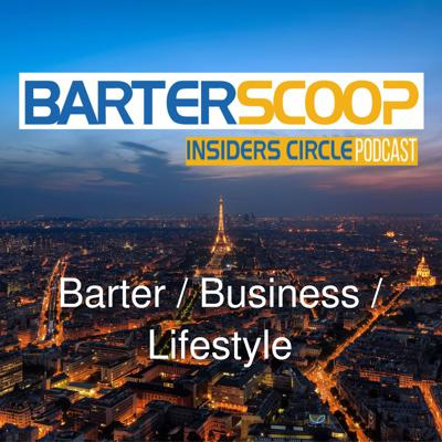 BarterScoop Insiders Circle Podcast is a show that will teach you how to increase profits, save money and barter for a better lifestyle. Our goal is to help you improve the quality of your life by using what you have to get what you want. So, tune in regularly for some out of the box bartering ideas and creative strategies that will help improve your business and personal life.