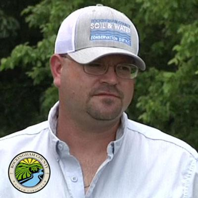 Cover art for Episode #35 Jason Byrd, Soil and Water Conservation District, Rockingham County 4-1-1