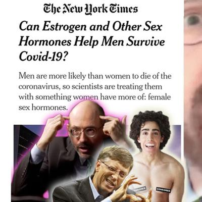 Cover art for Estrogen Therapy for Men & Meat Shortages