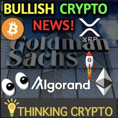 Cover art for Bitcoin Next Target is $50K - Goldman Sachs Ethereum - Bitwise $70M Funding - GoldConnect BTC