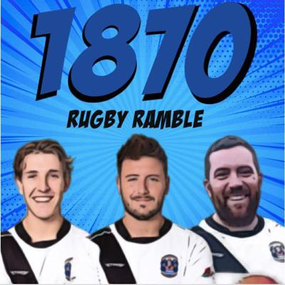 Welcome to the official Burton rugby club podcast. 1870 rugby ramble bring you all you need to know about current gossip within the club, hosts special guest speakers and hopefully brings a bit of entertainment to your week.