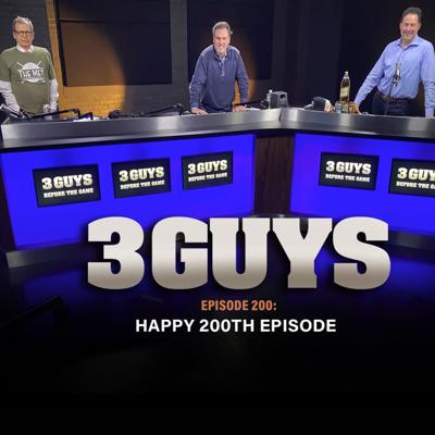 Cover art for Happy 200th Episode with Tony Caridi, Brad Howe and Hoppy Kercheval