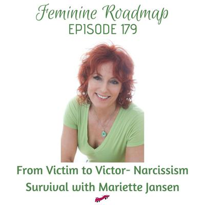 Cover art for FR Ep #179 From Victim to Victor- Narcissism Survival with Mariette Jansen