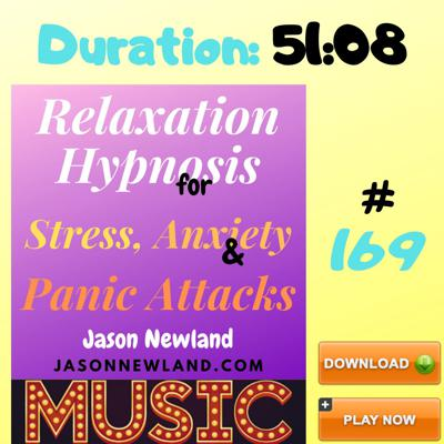 Cover art for #169 Relaxation Hypnosis for Stress, Anxiety & Panic Attacks -