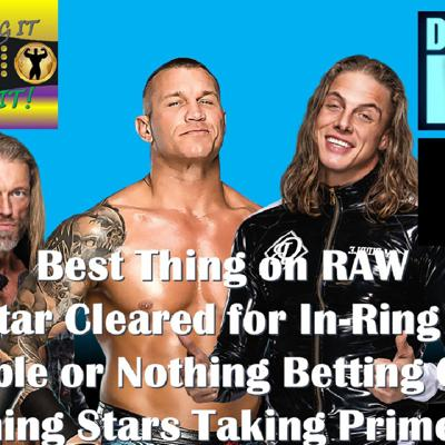 Cover art for The Best Thing On RAW - AEW Double Or Nothing Odds