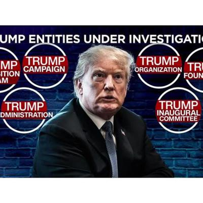Cover art for New York - AG's office says The  Trump Organization investigation is  criminal