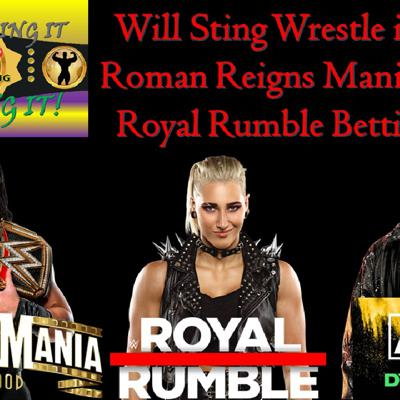 Cover art for Reigns Mania Plans / Sting To Wrestle