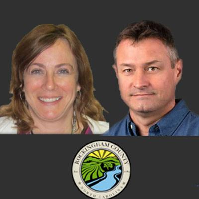 Cover art for Episode #33 Susan Young & Jason Vaughn, Rockingham County 4-1-1
