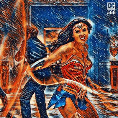 Cover art for Wonder Woman 1984 Moves to August