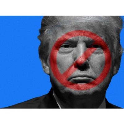 Cover art for Facebook says former President Trump's suspension will last at least 2 years