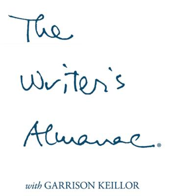 The Writer's Almanacis a daily podcast of poetry and historical interest pieces, usually of literary significance, hosted byGarrison Keillor.
