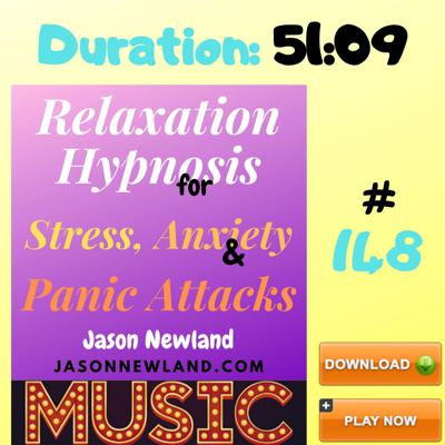 Relaxation Hypnosis for Stress & Anxiety - Jason Newland
