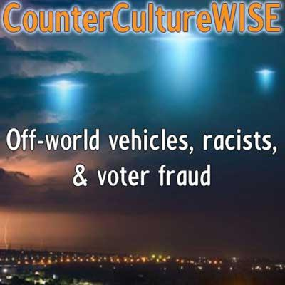 Cover art for Off-world vehicles, racists, & voter fraud