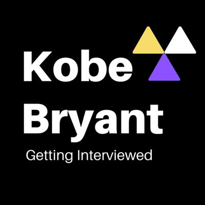 Kobe Bryant Getting Interviewed