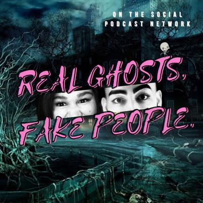 Real Ghosts, Fake People is a comedy horror podcast for any person who loves scary stories without the drama. This show is hosted by Kristen Aviles and Alonso Ramirez, otherwise known as the funniest and hottest improv duo, En Serio. Follow Kristen and Alonso every week as they laugh, explore their favorite spooky media, and listen to scary voicemails submitted by you, the people. Call 5715- SPOOKY, drop your scary story in a voicemail, then have a laugh while you listen to them react live to your stories.