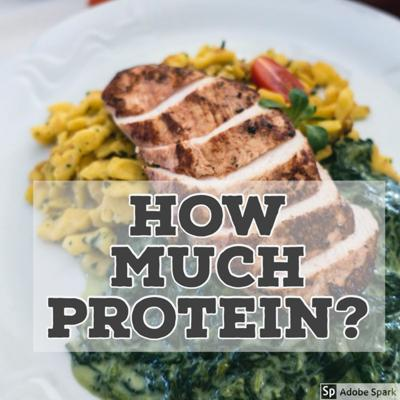 Cover art for 167 - How Much Protein For Fat Burning