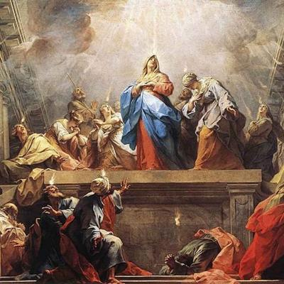 Cover art for Solemnity of Pentecost Sunday - The Coming of the Holy Spirit