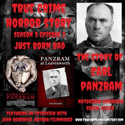 Cover art for S3E2: Just Born Bad (Carl Panzram)
